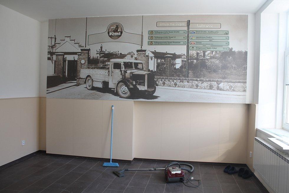 Restaurace v Malém Beranově aktuálně prochází rekonstrukcí.