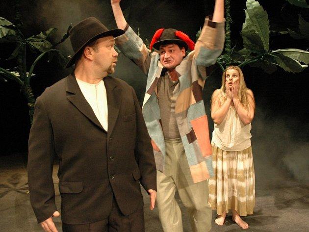 Jak se vám to líbí. Představení hry Williama Shakespeara v jihlavském Horáckém divadle.