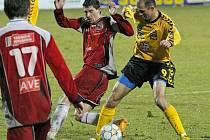 Z utkání FC Vysočina Jihlava proti FK Ústí nad Labem.
