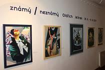 Návštěvníci brodské galerie si v období od 25.8 do 15.10 mohou prohlédnout výstavu děl Oldřicha Jelínka.