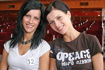 V letošním ročníku Miss Vysočiny se objevila dvojčata Petra a Michaela Snášilovy.