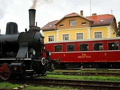 Opravené nádraží v Telči působí nostalgicky i moderně a v soutěži nemusí být bez šancí.