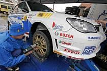 Rallye Vrchovina začne dnešními technickými přejímkami.