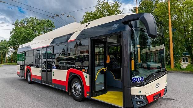 Autobusy v Jihlavě. Ilustrační foto.