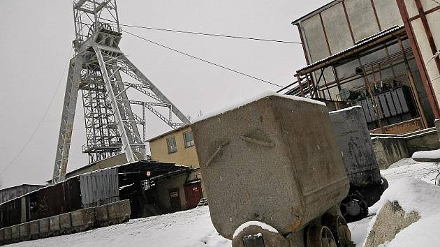 Tak to bude vypadat ke konci roku v uranovém dole v Rožné na Žďársku, kde si horníci budou v období od 24. do 2. ledna hromadně vybírat dovolenou.