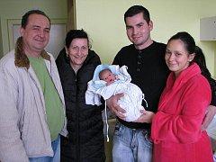 Sofie Březinová, 15. 1. 2012, 2730 g, 48 cm, Velký Beranov