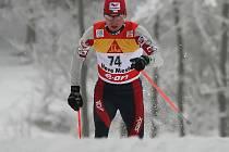 Lukáš Bauer vstoupil do seriálu Tour de Ski nejlépe, jak mohl.