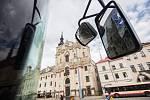 Dopravní podnik města Jihlavy vyhlásil, že se mění nasazení, aby sedmdesát procent z kilometrů ujetých autobusy MHD zvládla devítka vozů Iveco Urbanway s klimatizací.