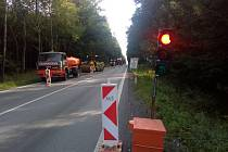 Kdo míří do krajského města po silnici druhé třídy s označením 406 či 602 se musí připravit na zdržení před Jihlavou. Opravuje se zde úsek od kruhového objezdu směrem na Hosov, městskou část Jihlavy. Dopravu řídí semafory.