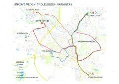 Zřejmě od letošního podzimu by měly začít jezdit jihlavské trolejbusy v některých nových trasách. Týká se to stávající linky B a nové linky D. Linka B1 bude zrušena. Souvisí to se zprovozněním nového trolejového úseku do Horního Kosova Vrchlického ulicí.