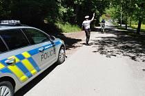 Páteční dopravně bezpečnostní akce krajských policistů.