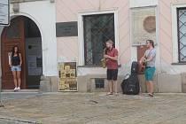 Pátek patřil v Jihlavě pouličním umělcům.