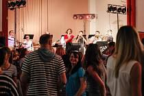 Svatojiřská tančírna je v Lukách nad Jihlavou oblíbená.