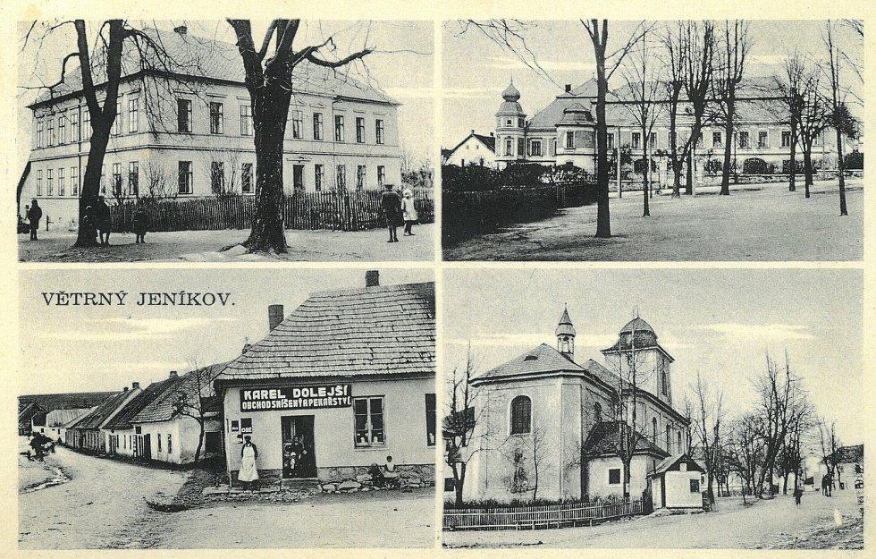 Větrný Jeníkov byl významným městečkem už v minulosti.