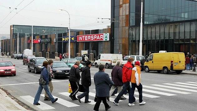 Obchodně–zábavní centrum City Park Jihlava. Ilustrační foto.
