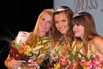 Vítězný úsměv Miss Jihlava Open 2008 Lucie Klukavé (uprostřed)