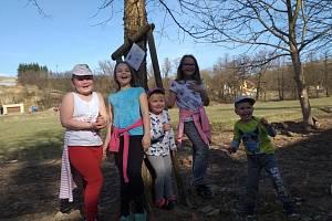 Jarní stezka nejen pro děti v Nové Říši.