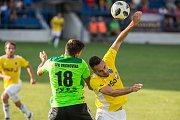 Utkání 1. kola MOL CUPu mezi SFK Vrchovina a FC Vysočina Jihlava.