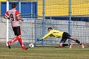 Utkání 2. kola MOL CUPu mezi Slavoj Polná a A.F.C. Humpolec.