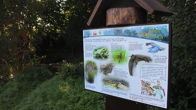Skalka nabízí přírodní prostředí na dosah od sídliště.