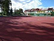 Takto vypadá nové sportoviště v Jihlavě-Heleníně.
