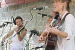 Bluegrassový festival v Lukách nad Jihlavou.