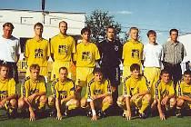 Bezprostředně po posledním utkání MSFL v sezoně 1999/2000 ještě jihlavský tým netušil, že do II. ligy postoupí i z druhého místa.