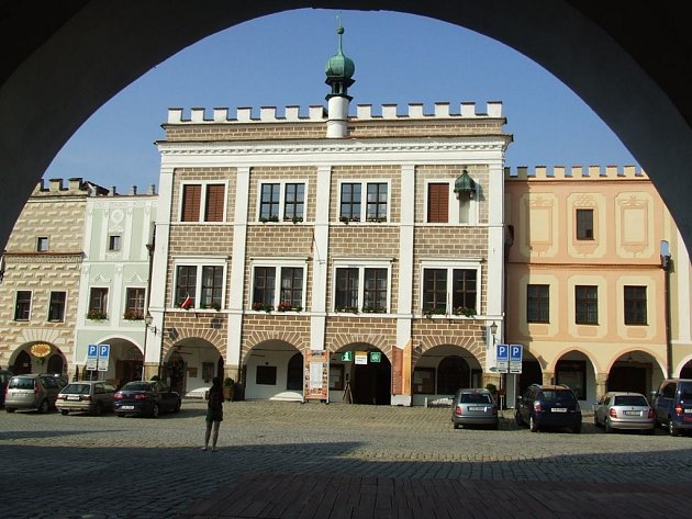 Radnice v Telči.