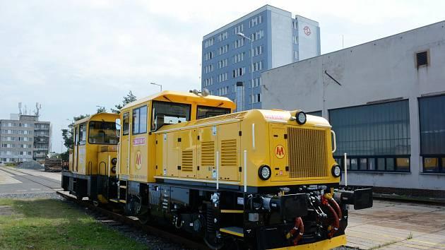 EffiShunter 300 Metro Varšava během zkoušek v pražském Depu Kačerov.
