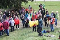 Protesty na Čeřínku proti úložišti