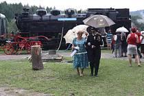 Malé železničářské muzeum v Hodicích je otevřeno.