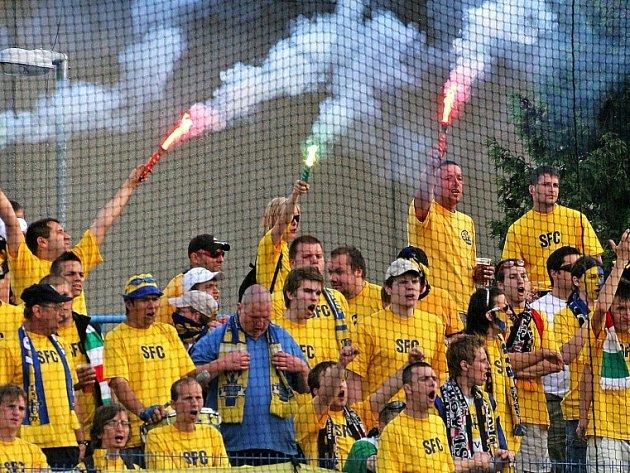 Opavští fanoušci odjíždějí z Jihlavy s prázdnou. Jejich tým prohrál 3:2.