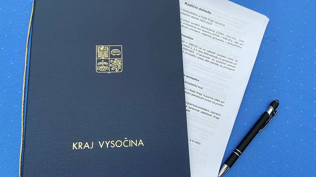Koaliční smlouva  je podepsaná, zbývá už jen aby radní schválilo zastupitelstvo.