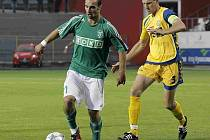 Michal Kadlec (vpravo) neodjel na soustředění fotbalistů FC Vysočina.