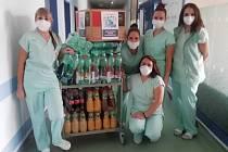 Iniciativa Malá jihlavská radost už dodala do nemocnice osm zásilek celkem za více než padesát tisíc korun.