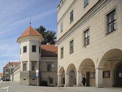 Telč. NPÚ žádá na opravu zámku v Telči 210 milionů korun z evropslých fondů.