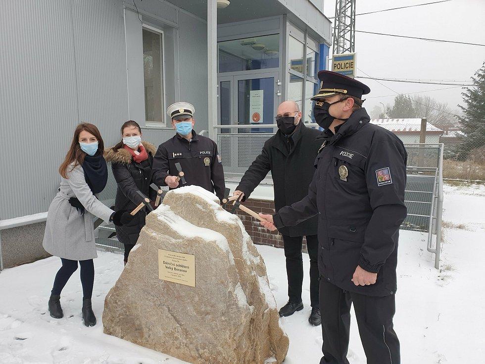 Dálniční policisté z Velkého Beranova se mohou těšit na přístavbu a modernizaci. Vyjde na šedesát milionů korun.