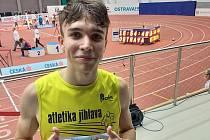 Svěřenec týmu Atletika Jihlava Eduard Kubelík.