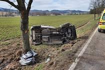 Tragická nehoda u Batelova.