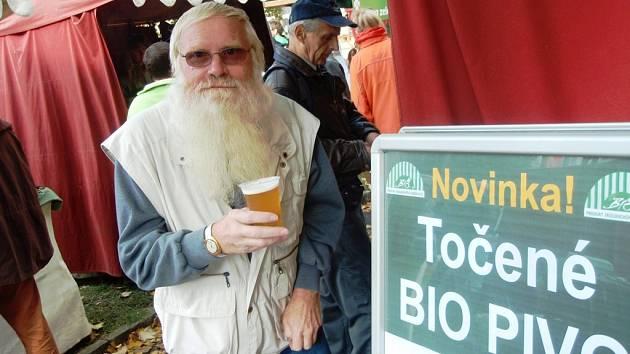 Sobotní biojarmark v Jihlavě