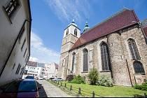 Kostel svatého Jakuba Většího v Jihlavě.