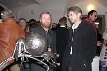 První výstava uměleckého kováře Davida Habermanna
