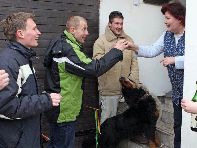 Panáček k oslavám Velikonoc patřil i na Jihlavsku