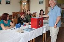 Volby v Radkově.