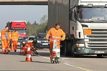 Rekonstrukce hlavní tuzemské dálnice.