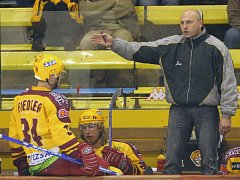 Trenér Petr Vlk.