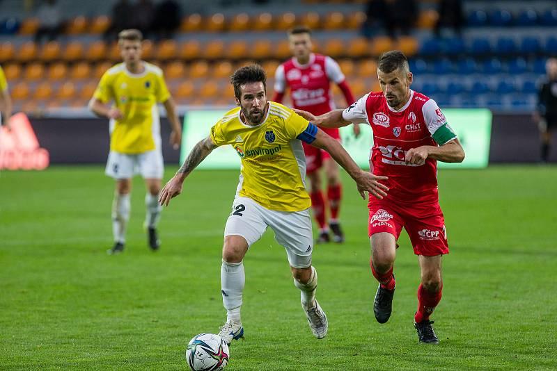 Fotbalisté druholigové FC Vysočina Jihlava v úterý zdolali Pardubice a zajistili si postup do osmifinále českého poháru.