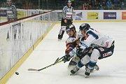 Zápas 37. kola hokejové extraligy HC Dukla Jihlava - Bílí Tygři Liberec.