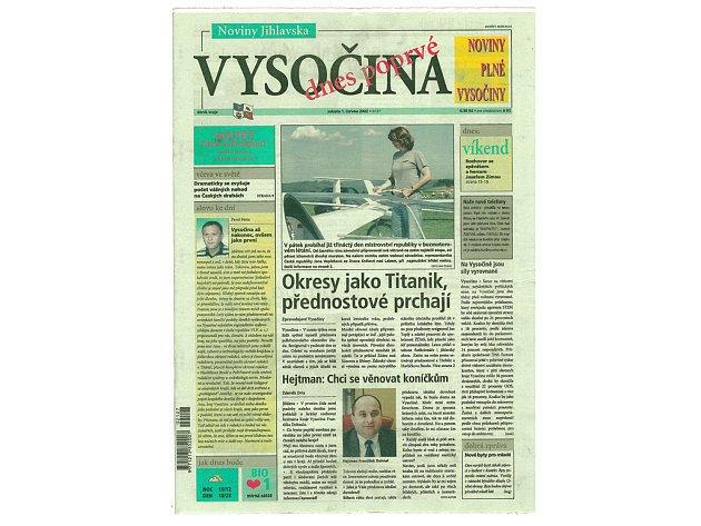 Deníku Vysočina je už 10 let!