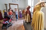 Výstava k filmu Pyšná princezna na zámku v Telči.